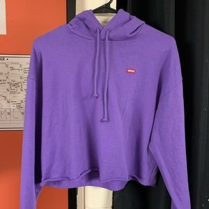 Levi's Purple Sweatshirt